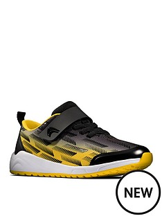 clarks-boysnbspaeon-pace-lace-trainer-black-yellow