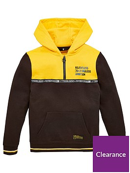 v-by-very-boys-colour-block-half-zip-sweat-top-mustard