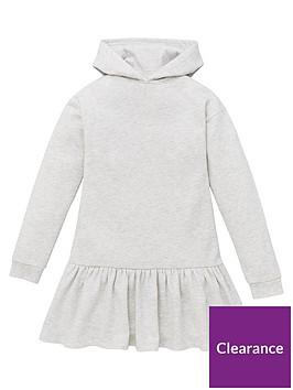 v-by-very-girls-hoodednbspdrop-waist-dress-grey-marl