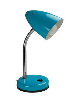Premier Housewares Premier Housewares Ava Desk Lamp - Blue Picture