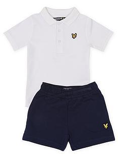 lyle-scott-toddler-boys-polo-and-short-set-white-navy