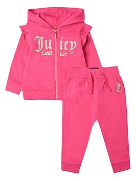 Juicy Couture Juicy Couture Toddler Girls Jog Set - Pink Picture