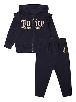 Juicy Couture Juicy Couture Toddler Girls Jog Set - Navy Picture