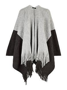 v-by-very-colour-block-lightweight-knitnbspwrap-blackgrey