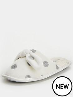 v-by-very-wina-polka-dot-mule-slipper-cream