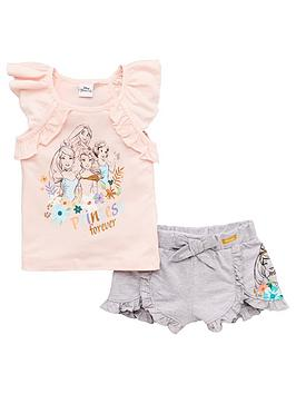 Disney Princess Disney Princess Girls Disney Princess Frill Top &Amp;  ... Picture