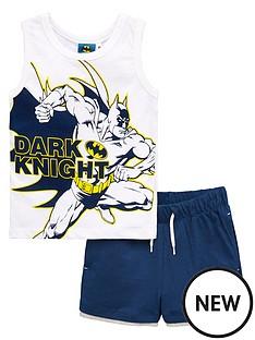 batman-boysnbspdark-knight-vest-and-short-set-white