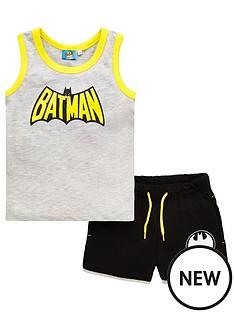 batman-boysnbspvest-and-shorts-set-grey