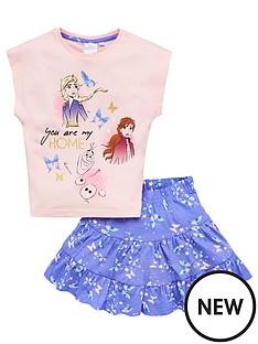 disney-frozen-girlsnbsptop-and-skirt-set-pink-blue