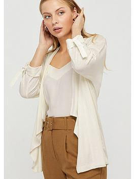 Monsoon Monsoon Callie Waterfall Linen Blend Cover Up - Ivory Picture