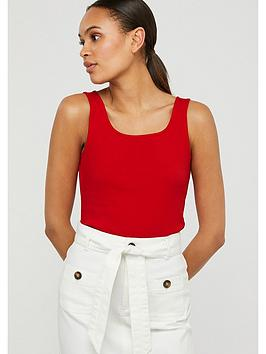 Monsoon Monsoon Bridey Square Neck Vest - Red Picture
