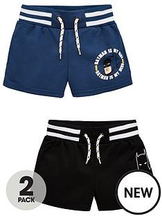 batman-boysnbsp2-pack-tie-waist-shorts-multi