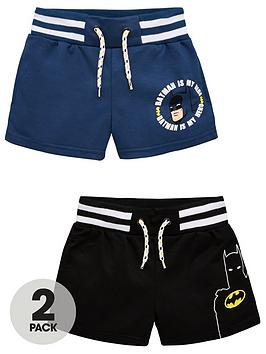 Batman Batman Boys 2 Pack Tie Waist Shorts - Multi Picture