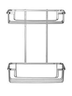 croydex-rust-free-two-tier-cosmetics-storage-basket