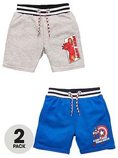 marvel-boys-marvel-2-pack-iron-man-ampnbspcaptain-america-shorts-multi