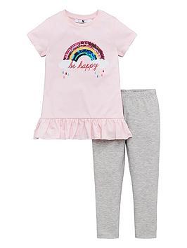 v-by-very-girls-be-happy-rainbow-peplum-top-and-legging-set