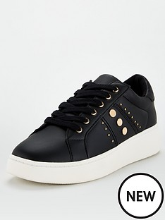 v-by-very-abbey-stud-trim-trainers-black