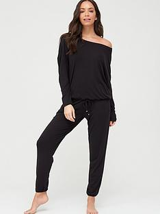 v-by-very-off-the-shoulder-slouchy-pj-set