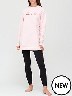 v-by-very-oversized-sweat-amp-legging-set-pink