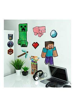 Very Minecraft Wall Decals Picture