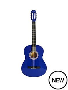 rocket-rocket-full-size-classical-spanish-guitar-blue