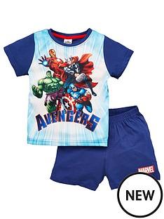 marvel-boysnbspavengers-shortie-pjs-blue