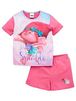 dreamworks trolls Dreamworks Trolls Girls Trolls Free To Sparkle Shortie  ... Picture