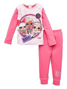 lol-surprise-girls-lol-surprise-rock-long-sleeve-pjs-pink