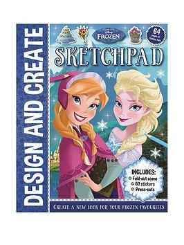 Disney    Frozen Design And Create Sketchpad
