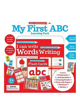 Very  First Time Learning: My First Abc Learning Pack