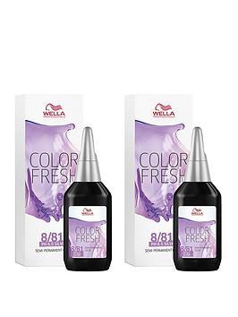 Wella Wella Wella Professionals Color Fresh Semi-Permanent Colour Light  ... Picture
