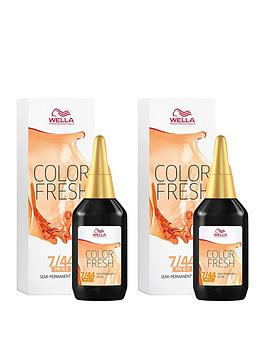 wella-wella-professionals-color-fresh-semi-permanent-colour-medium-intense-red-blonde-75ml-duo-pack