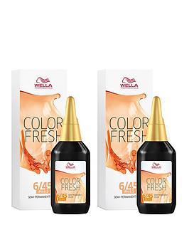Wella Wella Wella Professionals Color Fresh Semi-Permanent Colour Dark Red  ... Picture