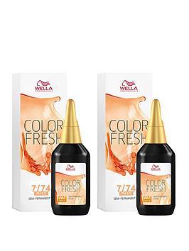 Wella Wella Wella Professionals Color Fresh Semi-Permanent Colour Medium  ... Picture