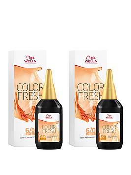 Wella Wella Wella Professionals Color Fresh Semi-Permanent Colour Dark  ... Picture