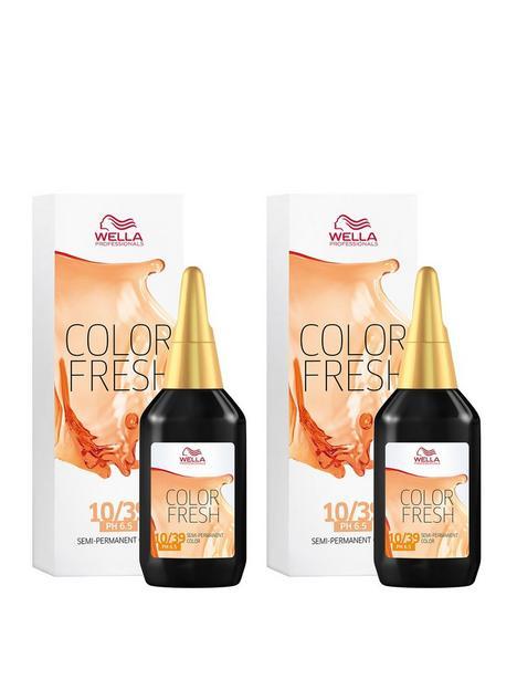 wella-wella-professionals-color-fresh-semi-permanent-colour-lightest-gold-central-blonde-75ml-duo-pack