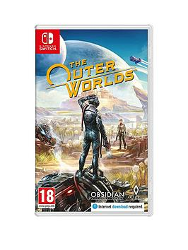 Nintendo Switch Nintendo Switch The Outer Worlds - Switch Picture