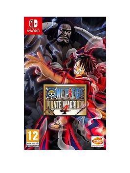 Nintendo   One Piece Pirate Warriors 4 -Switch