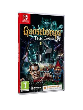 Nintendo Switch   Goosebumps - Ciab
