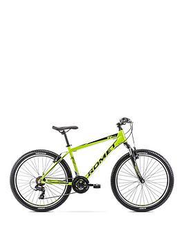Romet Romet Romet Rambler R6.0 Alloy Hardtail Mountain Bike 14 Frame Limone Picture