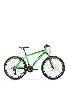 romet-romet-rambler-r61-alloy-hardtail-mountain-bike-17-frame-black-green