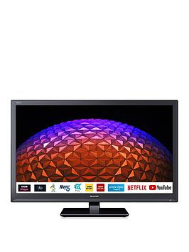 Sharp Sharp 24Bc0K 24 Inch, Hd Ready, Led, Smart Tv With Freeview Play -  ... Picture