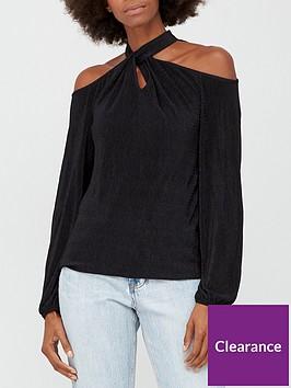 v-by-very-cold-shoulder-halter-long-sleevenbsptop-black