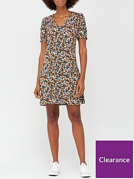v-by-very-v-neck-fit-amp-flare-jersey-mini-dress-floral-print