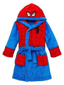 spiderman-boys-spiderman-dressing-gown-with-hood-detail-multinbsp