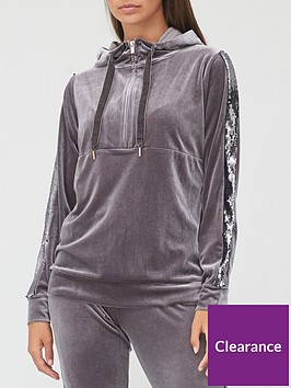 v-by-very-sequin-detail-zip-hoodie-charcoal