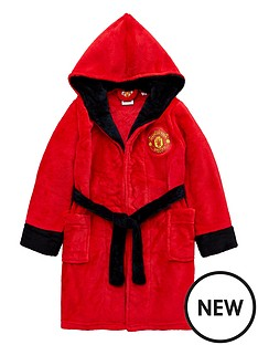 manchester-united-unisex-kids-dressing-gown-red