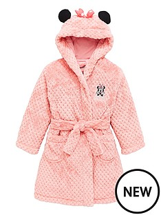 minnie-mouse-girls-minnie-mousenbspwadded-ears-dressing-gown-pink