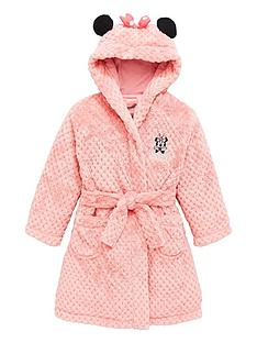 minnie-mouse-girls-wadded-ears-dressing-gown-pink