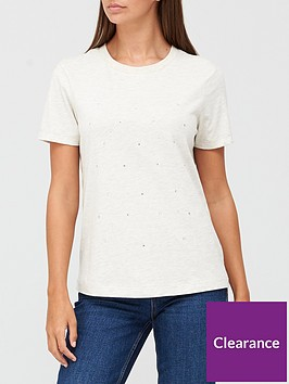 v-by-very-scattered-diamante-front-t-shirt-oatmeal